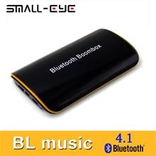 SMALL-EYE RCA Caja de Música Estéreo Bluetooth Receptor de Audio Inalámbrico con Micrófono para Sistema de Audio Para El Hogar Altavoz AUX Coche Dispositivos 8067