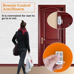 Image 3 - KERUI 120dB Wireless PIR Door Window Burglar Alert Sensor Home Security Arm Disarm Anti Theft Alarm System with Remote Control