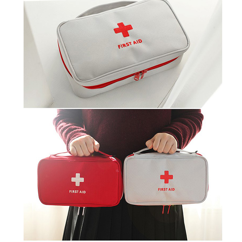 Pill Box First Aid Medical Bag Outdoor Rescue Emergency Survival Treatment Storage Medicament Bags All-shipping
