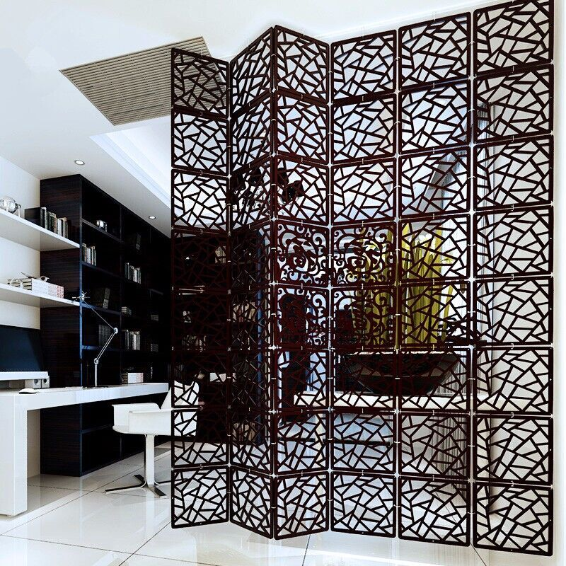 Online buy wholesale carved wood room divider from china for Temporary wood wall