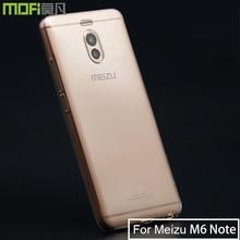 Meizu M6 Note Case Meizu M6Note Case Silicone Cover Ultra Thin Clear Soft Mofi Back Transparent Slim Coque Meizu M6 Note Case аксессуар чехол meizu m2 note cojess ultra slim экокожа флотер silver