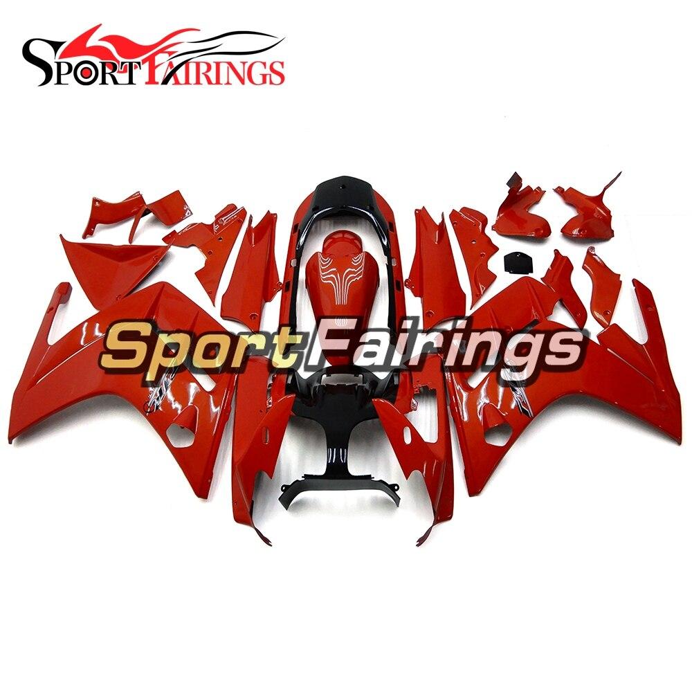цена на Full Fairings For Yamaha FJR 1300 2001 2002 2003 2004 2005 2006 ABS Plastic Motorcycle Fairing Kit Bodywork Red Black Fittings
