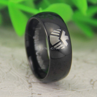 Free Shipping USA UK Canada Russia Brazil Hot Sales 8MM Shiny Black Dome Marvel Agents Of