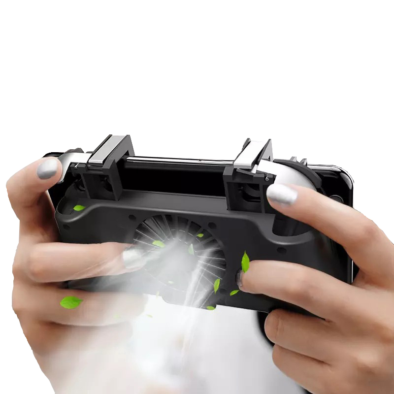 Pubg Controller Gamepad Pubg Trigger for Iphone Android Heat Sink for Mobile Phone Shooter Trigger Fire Button Gamepad