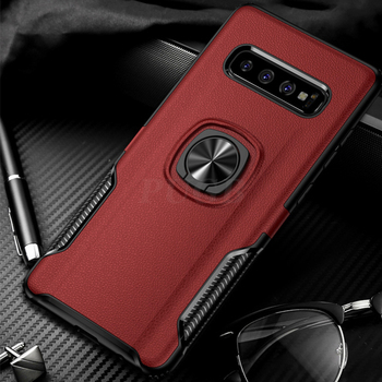 S10 Plus Shockproof Case With Ring