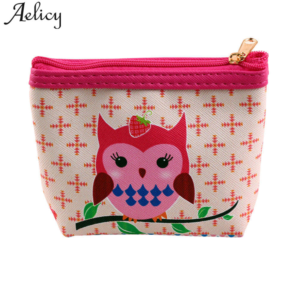 Aelicy 2018 Top Quality Latest Leather Short Women Wallet Fashion Girls Change Purse for Coins Money Card Holders wallets