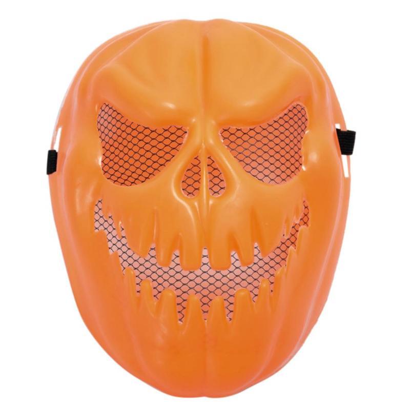 Halloween Mask Pumpkin Skull Mask Plastic Child Cartoon Toy Mask for Festival Prank Tricks Suplies Toys party decoration