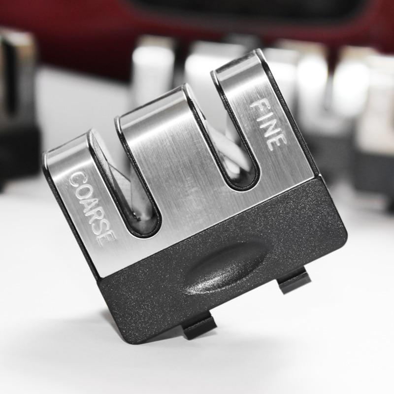 1PCS menggantikan bahagian-bahagian tajam pisau Penggantian alat ganti pisau Pisau mengasah Ketua Carbide Dapur Pisau Sharpener