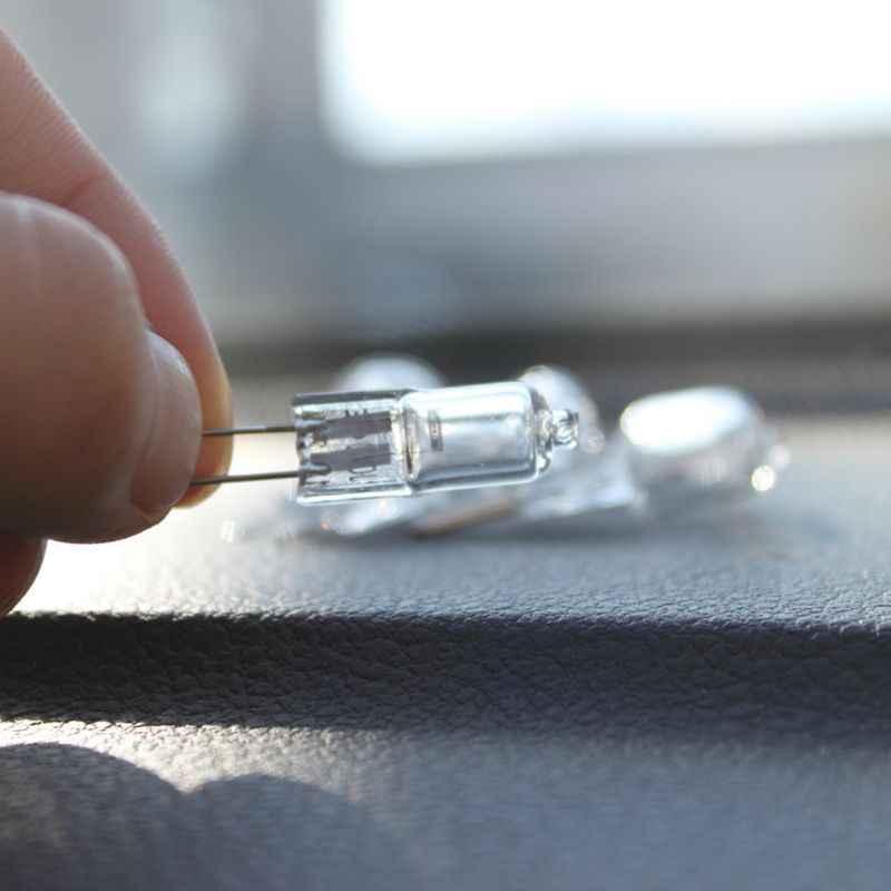 Прозрачные 20 Вт G4 12 В галогенные капсульные булавки лампы бусины для Люстра на потолок высокой мощности оптовая продажа и Прямая поставка