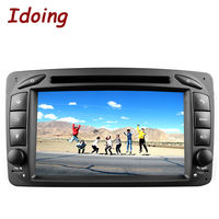 2Din Steering Wheel For Mercedes Benz W209 203 Android5 1Car DVD Multimedia Video Player HDCapacitive TouchScreen