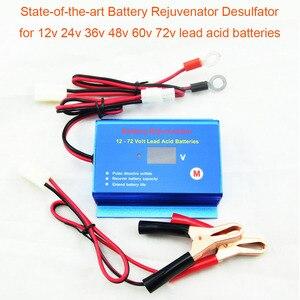 Image 1 - Nieuwe Ontworpen Intelligente Puls Auto Batterij Desulfator Rejuvenator Reconditioner Met Disconnect Kabels