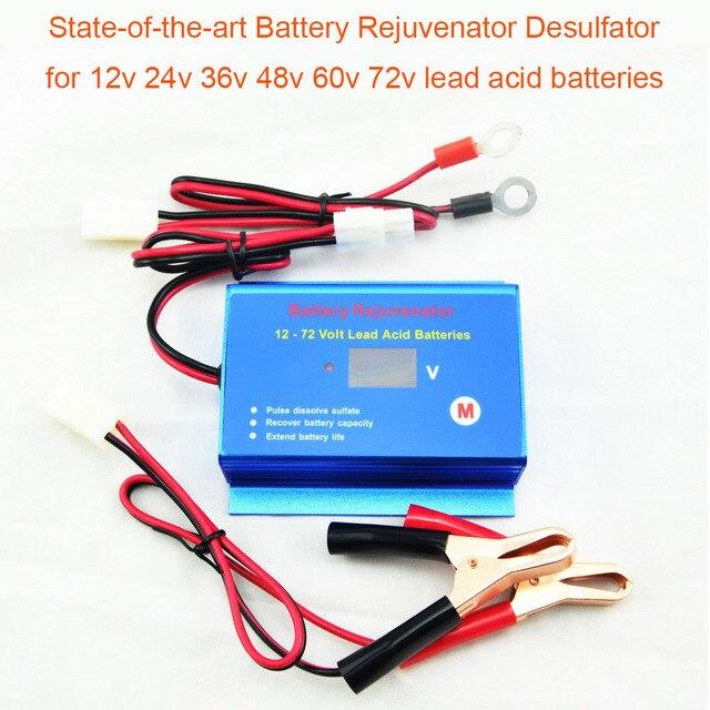Nieuwe Ontworpen Intelligente Puls Auto Batterij Desulfator Rejuvenator Reconditioner Met Disconnect Kabels