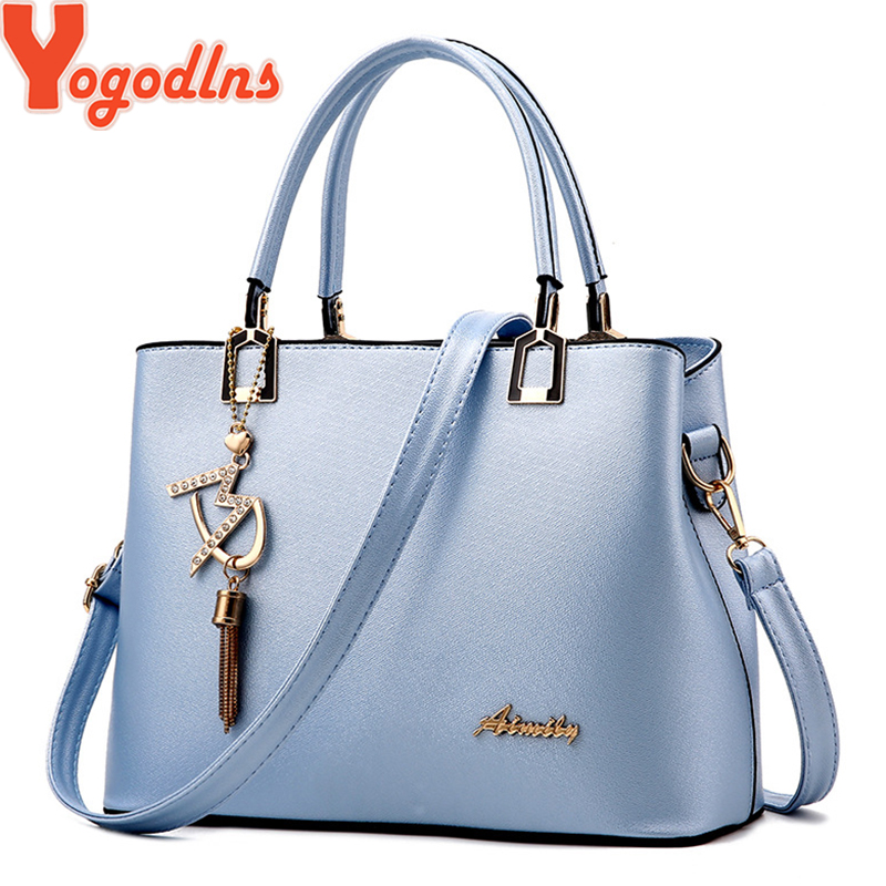 Yogodlns Women's Handbag 2019 New Women Messenger Bag Casual Women PU Leather Handbags Lady Classic Shoulder Bags Female Tote