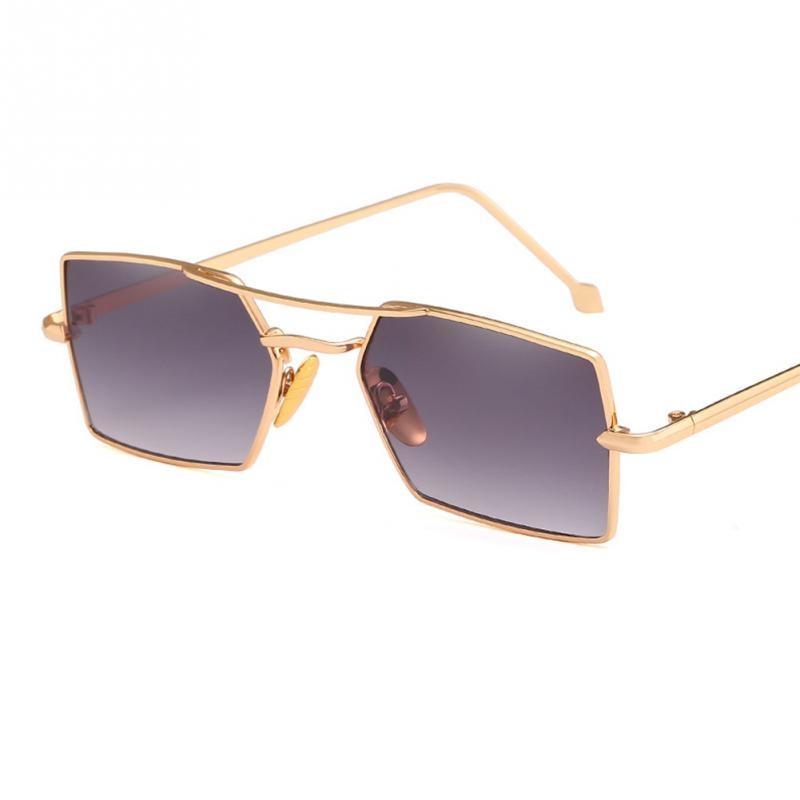 849a795fc7a 2018 New Hot Women Man Sunglasses High Quality Fashion Stylish Metal  Sunglasses High Definition Personality Eyewear Sunglasses-in Sunglasses  from Apparel ...
