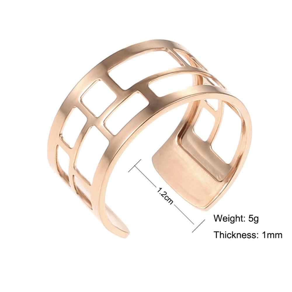 Legenstar ปรับขนาดได้แหวนสำหรับผู้หญิงหนังเปลี่ยนได้ Bague