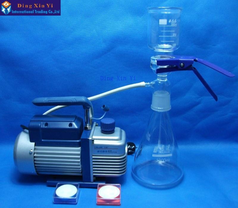 1000ml Membrane Filter+vacuum Pump+filtering Membrane,Ultra Low-cost Vacuum Filtration Apparatus