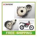 Левый двигатель крышки магнито катушки крышка XY250GY SHINERAY X2 Х2Х 250CC dirt велосипед аксессуары бесплатная доставка