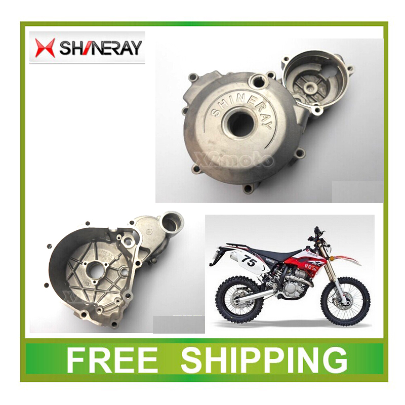 цена на Engine left cover magneto coil cover XY250GY SHINERAY X2 X2X 250CC dirt bike accessories free shipping