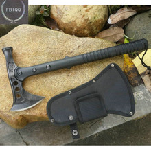 Solid  AXE Stone Wash Fine cast Hatchet and Axe Multifunction Nylon + Fiberglass Handle Tomahawk Hammer Freeshipping