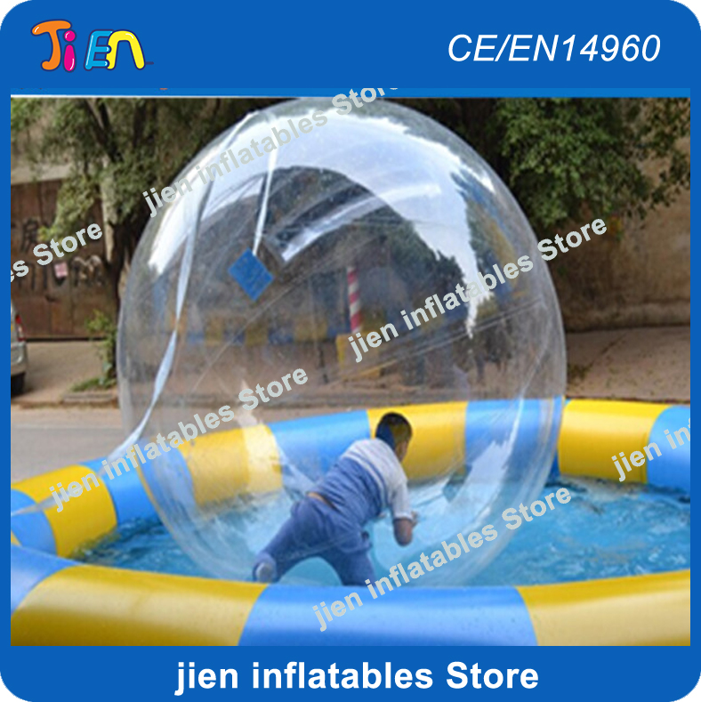 Food Processor Parts Transparent Giant Cylinder Human Water Bubble Ball Pvc Floating Roller Home Appliances