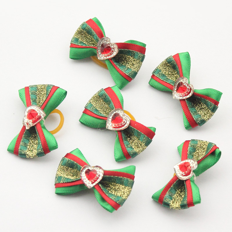 100-PcsLot-Armi-store-Handmade-Christmas-Dogs-Bow-Festival-Grooming-Bows-For-Dogs-6011035-Pet-Jewelry-Accessories-Wholesale-2