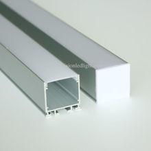 10 м(10 шт.) много, 1 м за штуку, алюминиевый светодиодный профиль для светодиодных лент светильник, алюминиевый светодиодный светильник