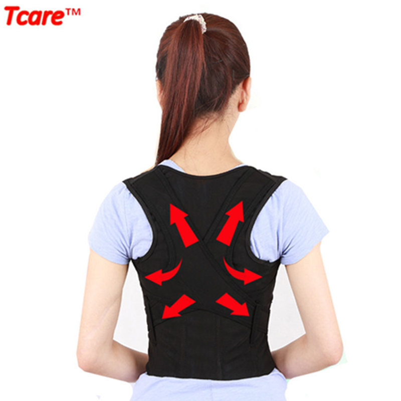 Tcare High Quality Health Care Universal Correct Posture Corrector Bälteväska Back Brace Support