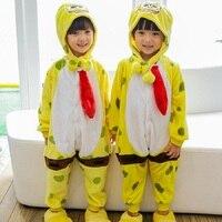 Wholesale Unicorn Stitch Panda Unisex Cartoon Kids Pajamas Costume For Girls Boys Pajama Child Cosplay Animal