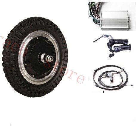 """12 """"250 Watt 48 V Elektrische Radnabenmotor, Elektroroller Motor Kit, Motor Skateboard, Elektrische Bürstenlosen Radnabenmotor"""