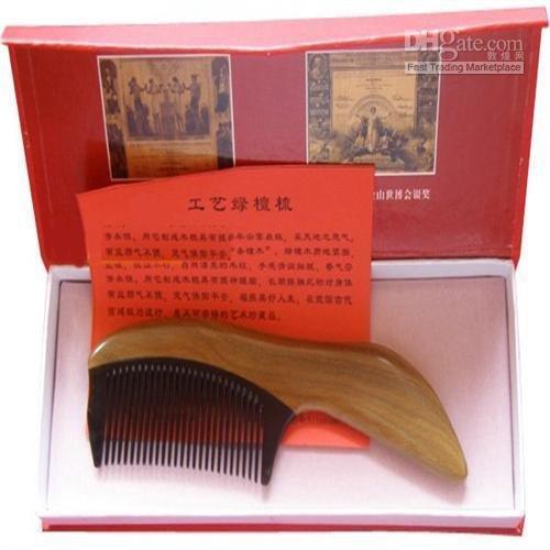 Hot sale!Guaranteed 100% horn+green sandal wood type B high grade gift-lvtan niu jiao he mu отзывы he wood rocky mountain wood