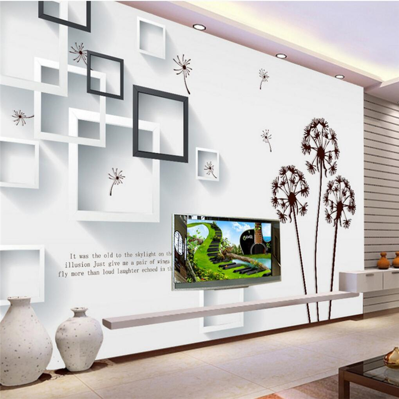 Beibehang Pintado A Mano Pared Interior Murales Costumbre Mural