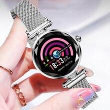 H1 Women Smart Watch Heart Rate Blood Pressure Fitness Pedometer Female Bracelet Sport Waterproof Lady Smartwatch