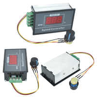 1Pcs PWM DC Motor Speed Controller 0-100 Digital Display Stufenlose Geschwindigkeit Regulierung 30A