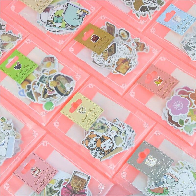 Hot Cute Cartoon Korean Scrapbooking DIY Decoration Diary Stickers