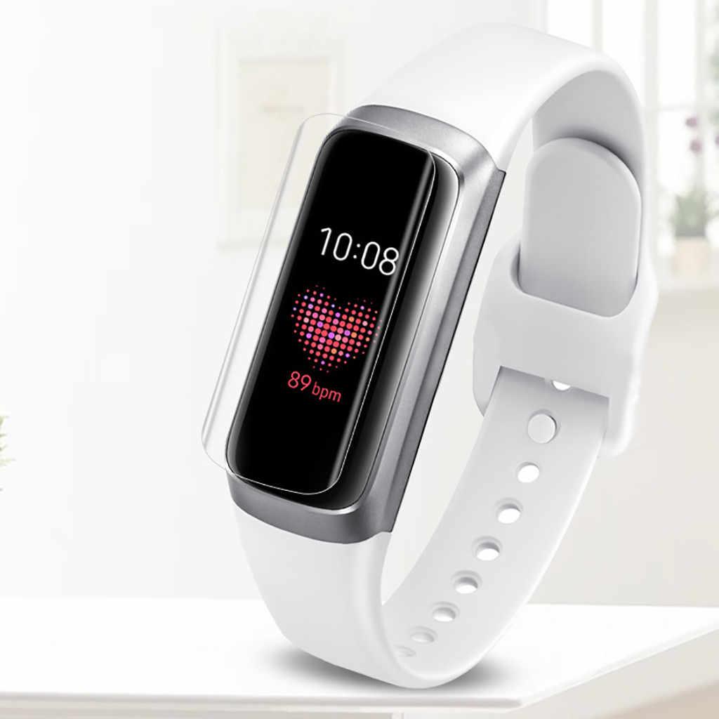 2 шт 3 шт 5 Защитная пленка для экрана ПК защитное покрытие из термополиуретана для samsung Galaxy Fit-e защитные Смарт-часы HD Взрывозащищенный экран защиты