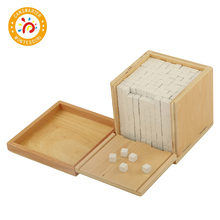 Baby Toy Montessori Volume Box with 1000 Cubes Early Childhood Education Preschool Training Kids Toys все цены