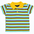 High Quality Baby Boys Girls T Shirts Short Sleeve Children Clothing Stripe Pattern Boy Girl Unisex Tops Kids Tees JJYZ139