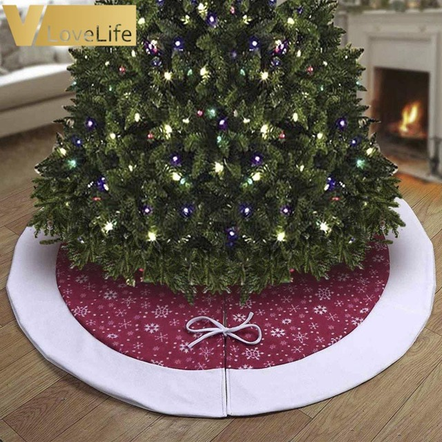48 velvet christmas tree skirts christmas decorations for home
