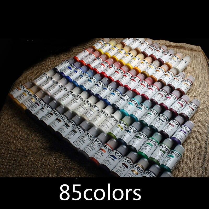 1 PC Fluid Acrylic Paint  Metallic Color Interference Color AJ Shoes Change Color  30ml /bottle