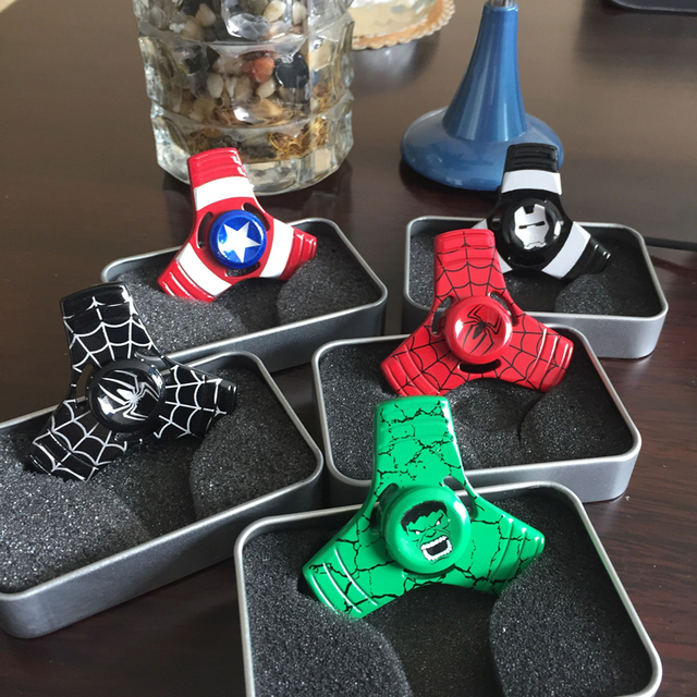 Hero Shield Fidget Spinner