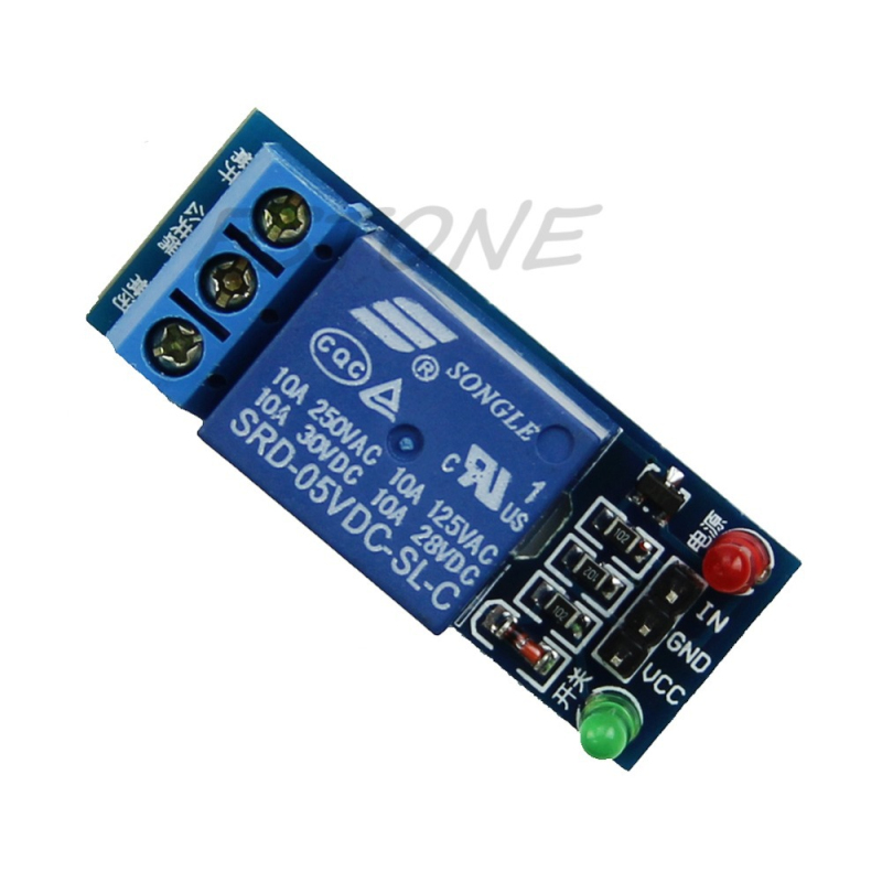 1-Channel 5V Relay Module High Level Trigger Expansion Board for  Relays fc 16 b 1 channel 24v relay module blue