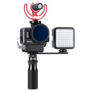 Image 3 - ULANZI PT 7 Lạnh Treo Chân Đế Vlogging Micro Nối Dài Đĩa 1/4 Chân Máy Vít Cho iPhone GoPro Sony RX0 II