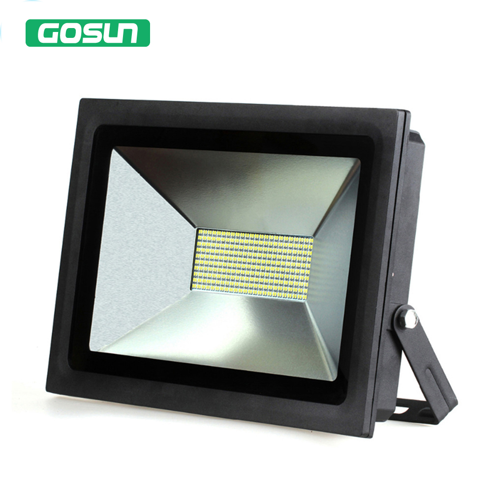 4 Pcs 100W LED Floodlight Spotlight Outdoor Lighting LED Flood Light Lamp Warm Cold White Waterproof IP65 searchlight ac220v led flood light 30w 50w 70w 100w 150w reflector led floodlight waterproof ip65 spotlight warm cold white outdoor lighting