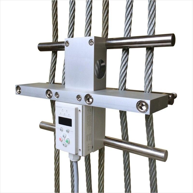 Multi Corda de Medição de Tensão Da Corda de Fio de Aço do elevador/Elevador Dispositivo de Pesagem de Carga WDS MR300 preço de fábrica - 4