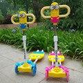 2017 real venda bicicleta infantil crianças bicicletas de scooter de quatro rodas de flash peito balanço bicicleta passeio no brinquedo do bebê mais segurança