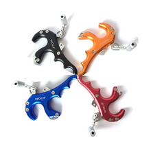 Big discount 4 Color Archery Caliper Hunting Bow Release Grip Stainless Steel Release for Compound Bow Hunting Shooting Archery