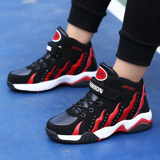 Basketball Shoes Boys Kids Sneakers Children s Outdoor Trainers Sport Shoes  For Teenagers Girls New Fashion High 9f5752ab5
