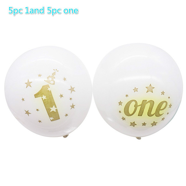 White 1and one Presents for one year old boy 5c64f7ebeed00