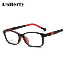d589bd5541 Marco de gafas para niños de Ralferty Ultra ligero TR90 gafas de silicona de  dibujos animados de gato gafas montura niños gafas .