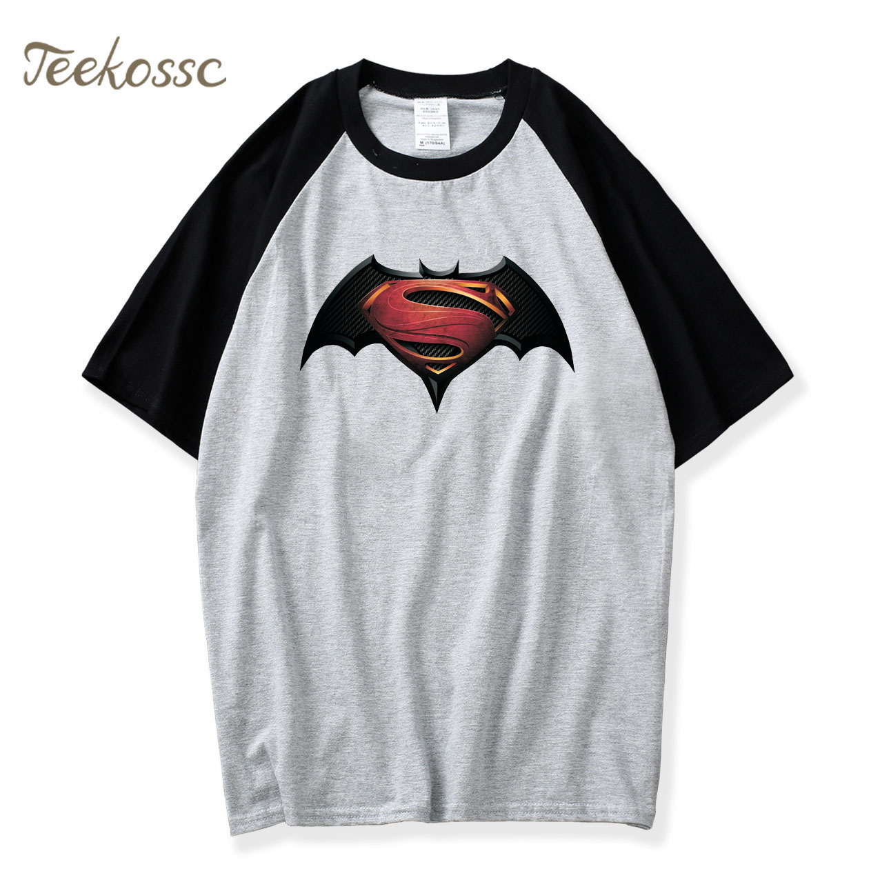 Bat T Shirt 2018 Hot Sale Summer Fashion Raglan Tshirts Mens Casual Loose Camiseta 100% Cotton Men Short Sleeve T-Shirt Tops Tee